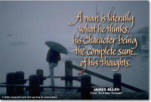 man's character