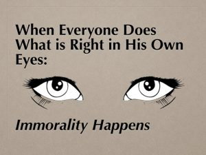 Immorality Happens